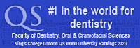 Dentistry at King's College London 1st in the world